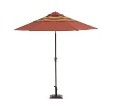 Martha Stewart Living Belle Isle 9 ft. Patio Umbrella Replacement