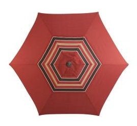 Martha Stewart Living Cedar Island Replacement 9 ft. Patio Umbrella