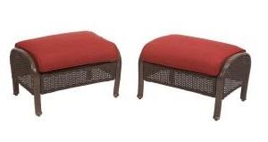 Martha Stewart Living Cedar Island Ottoman Cushions