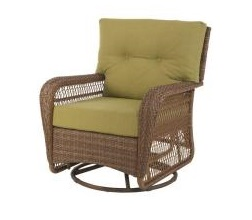 Martha Stewart Living Charlottetown Swivel Rocker Cushions