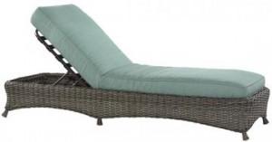 Martha Stewart Living Lake Adela Chaise Lounge Replacement Cushions