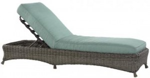 Martha Stewart Living Lake Adela Chaise Lounge Cushions