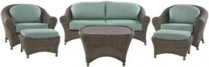 Martha Stewart Living Lake Adela Loveseat/Sofa Replacement Cushions