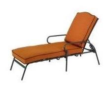Martha Stewart Living Mallorca II chaise lounge cushion