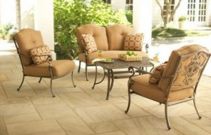 Martha Stewart Living Miramar II Loveseat cushions and Club Chair Cushions