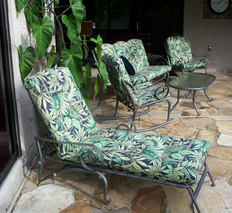 ... Furniture; Martha Stewart Victoria Patio Cushions By Everyday Victoria  Amelia Island Replacement Cushions ...
